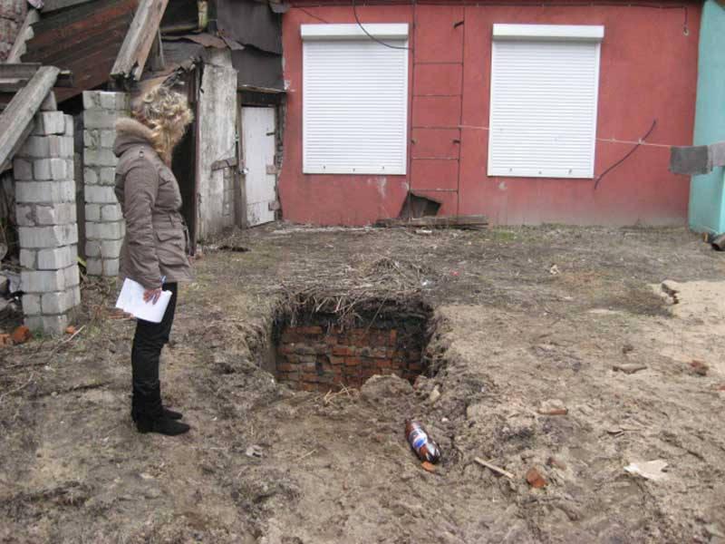 Старинные подземные ходы в Бобруйске замурованы