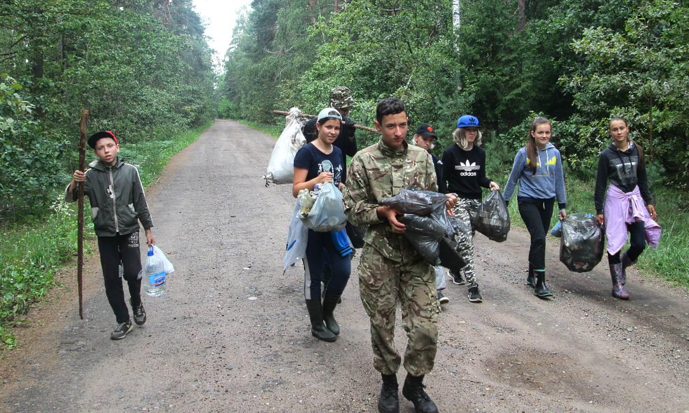 Юные лесоводы из Бобруйска