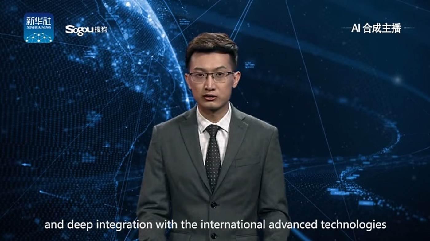 Первый телеведущий с искусственным интеллектом приступил к работе (видео)