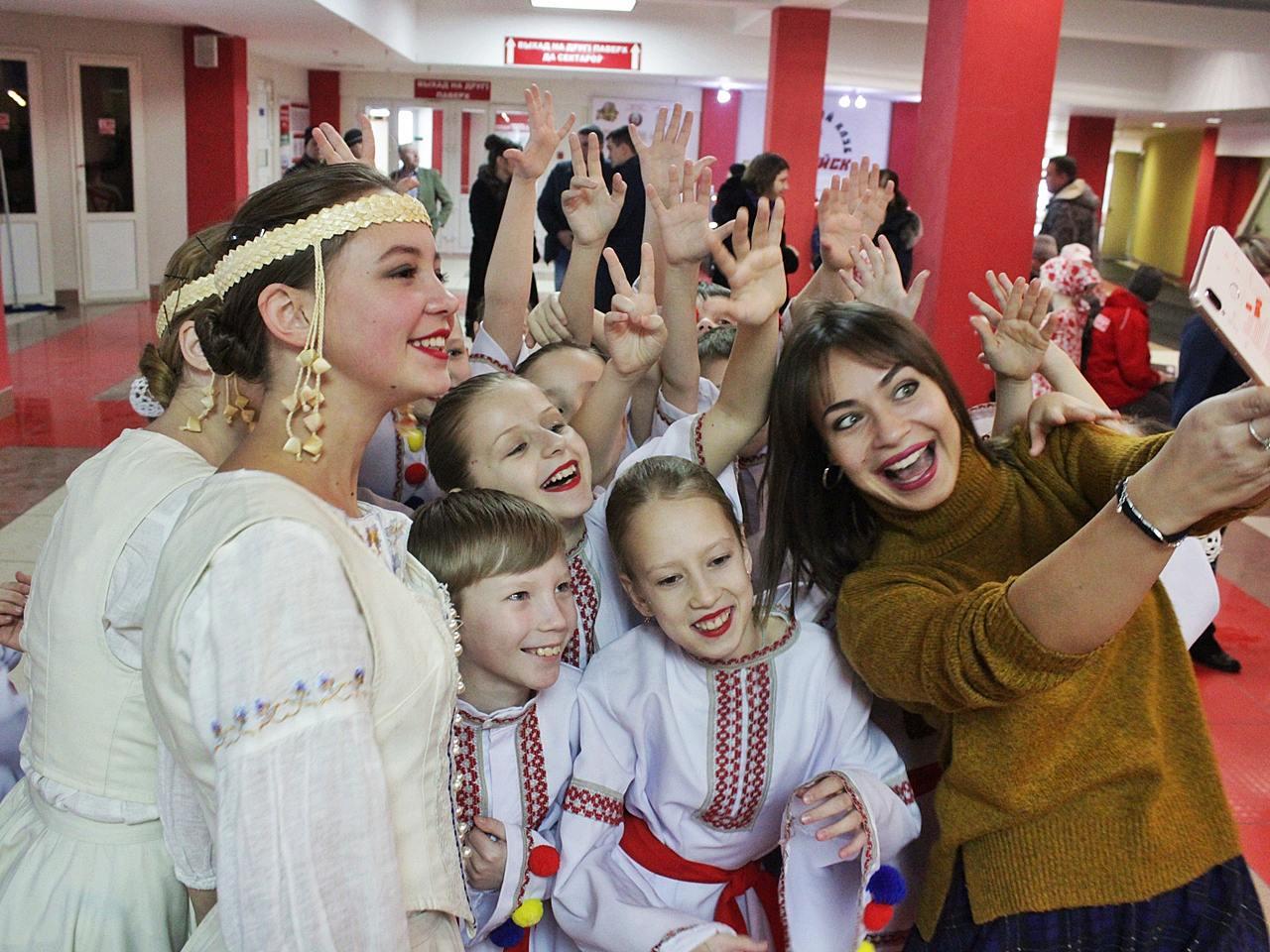 Ксения Райская и ее воспитанники