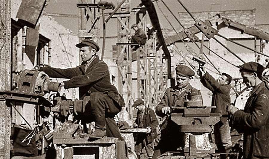Послевоенное возрождение на Бобруйщине