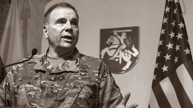 Американский генерал прогулялся по берегу Березины (видео)
