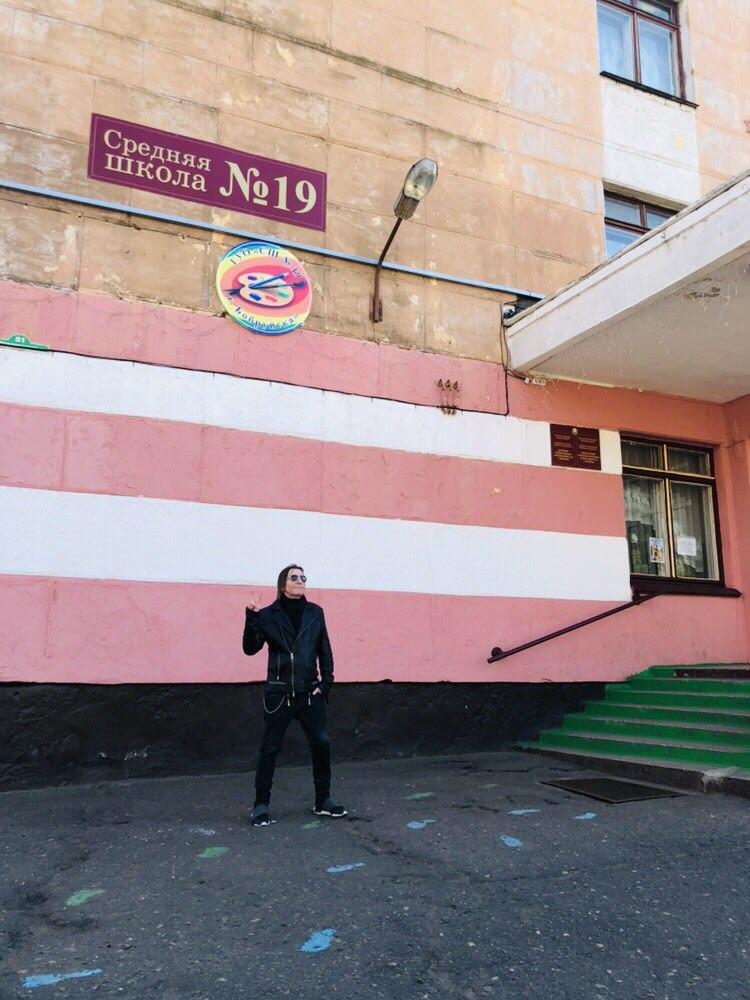 Александр Уман (Шура Би-2) посетил сегодня Бобруйск и прогулялся по родным сердцу местам…