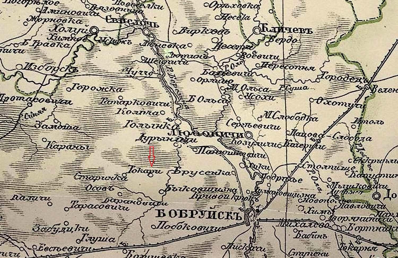 Токари — Большие и Малые, или Загадка старой карты