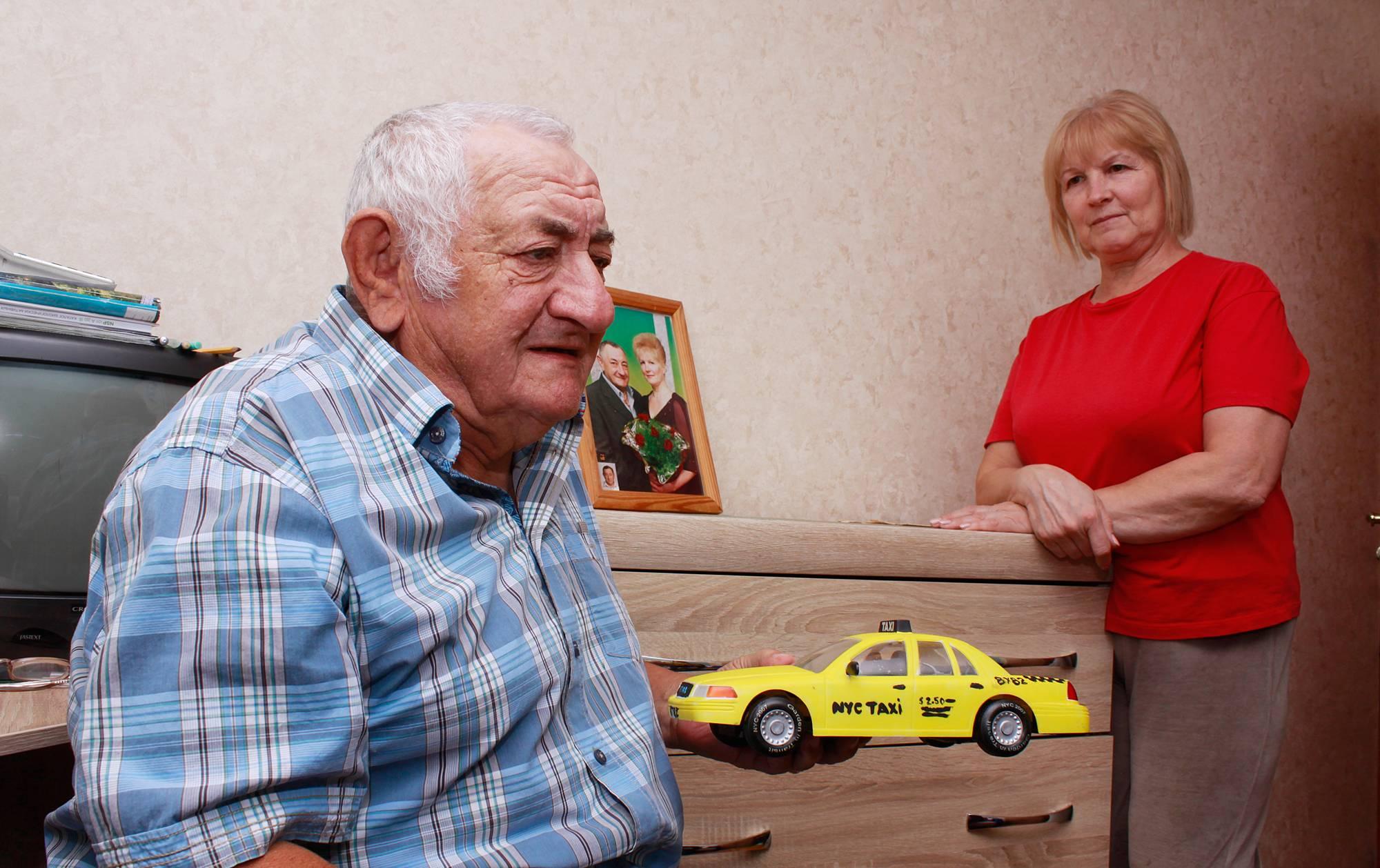 На такси в Москву