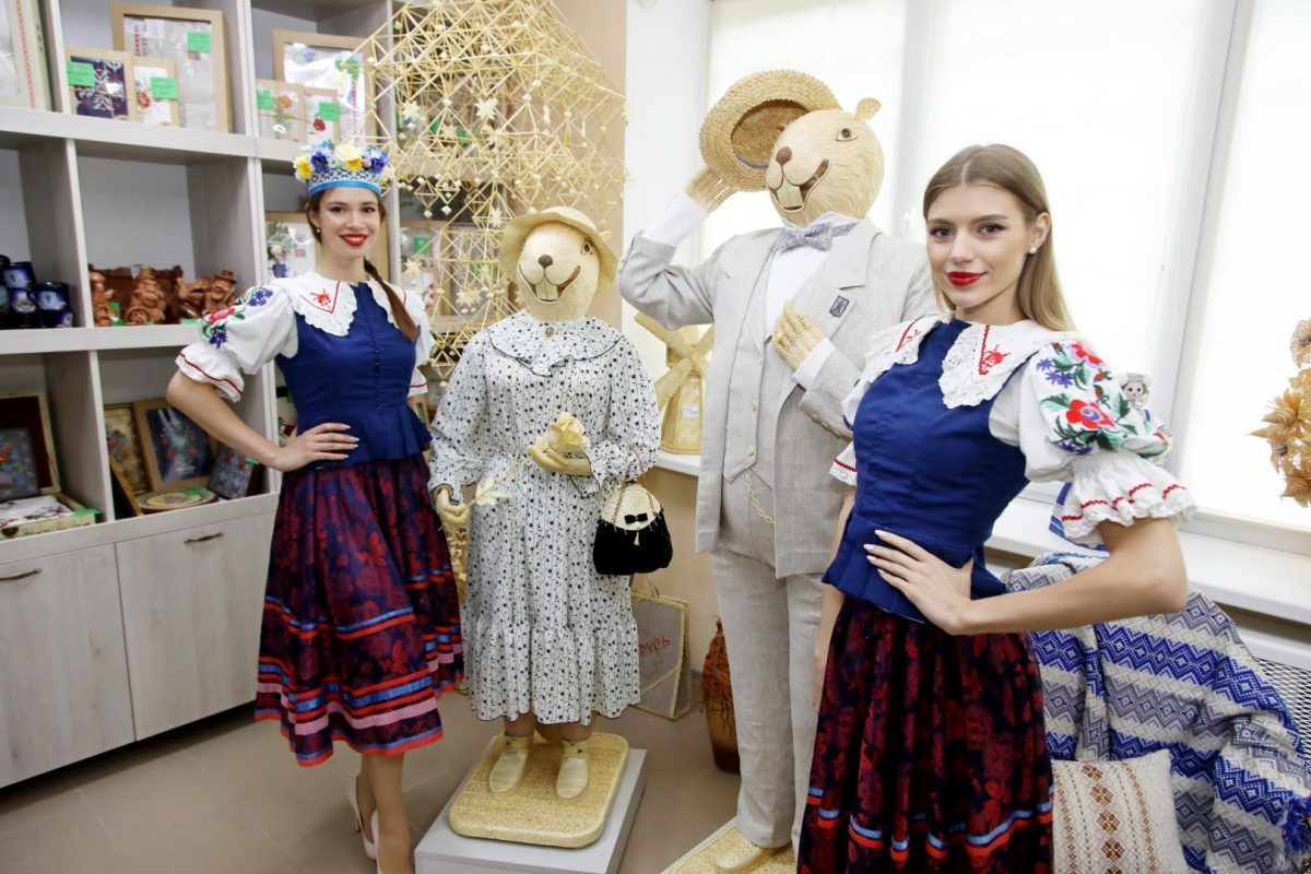 В Бобруйске открылся фирменный магазин «Беларускi сувенiр».